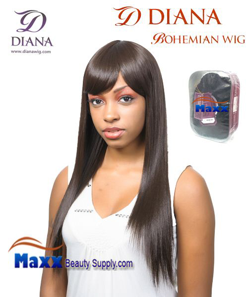 Diana Bohemian Synthetic Hair Full Wig - Gaga