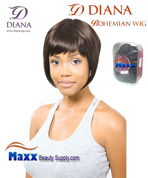 Diana Bohemian Synthetic Hair Full Wig - Mona