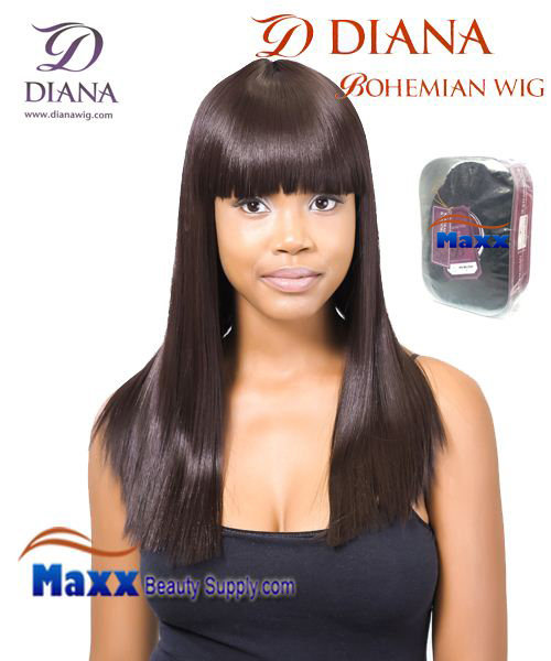 Diana Bohemian Synthetic Hair Full Wig - Yuri