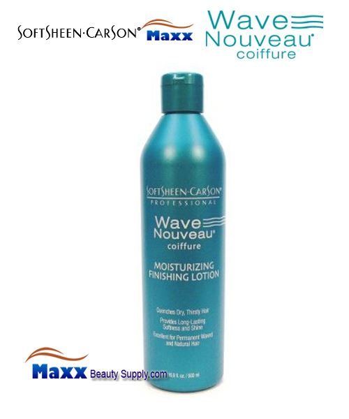 Softsheen & Carson Wave Nouveau Coiffure Moisturizing Finishing Lotion 16oz - Bottle