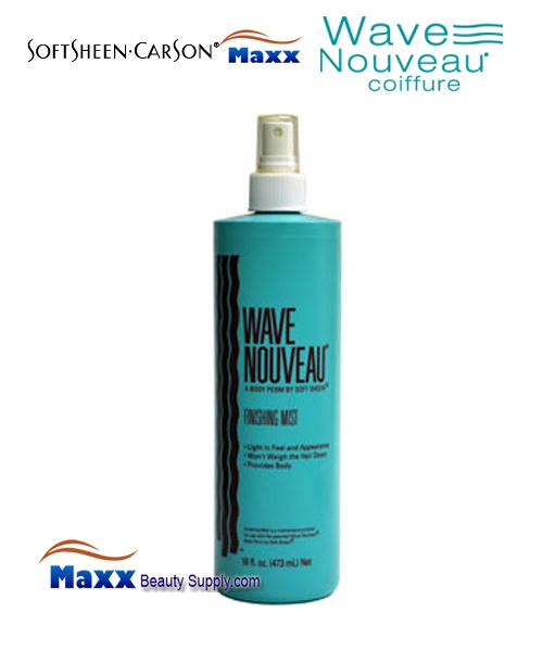 Softsheen & Carson Wave Nouveau Moisturizing Finishing Mist 16oz - Old Bottle Spray