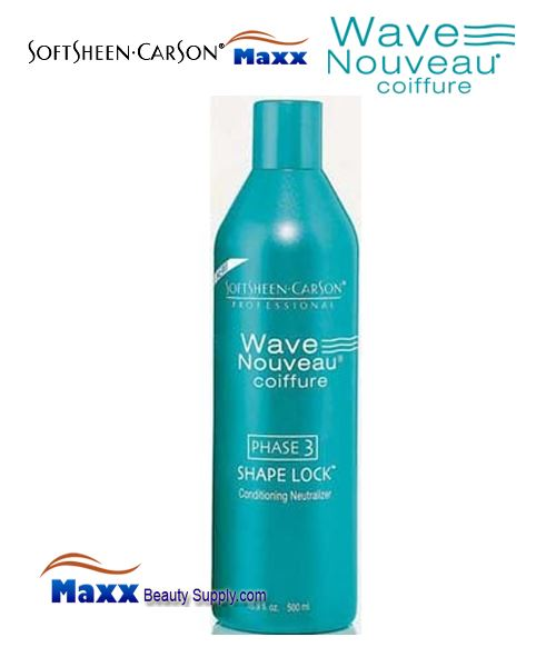 Softsheen & Carson Wave Nouveau PHASE 3 Shape Lock Conditioning Neutralizer 16.9oz - Bottle