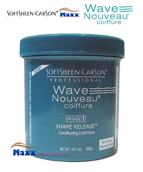 Softsheen & Carson Wave Nouveau PHASE 1 Shape Release Conditioning Cold Wave 14.1oz - Coarse/Resistant Hair
