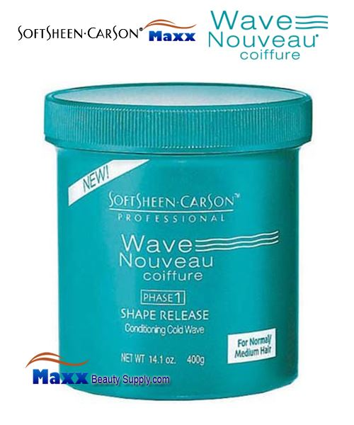 Softsheen & Carson Wave Nouveau PHASE 1 Shape Release Conditioning Cold Wave 14.1oz - Normal/Medium Hair