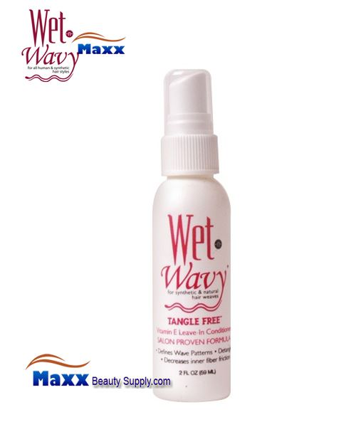 Bonfi Wet n Wavy tangle Free Leave In Conditioner Spray 02oz - Bottle