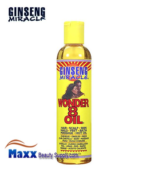 Ginseng Miracle Wonder 8 Hair And Skin Oil 8oz