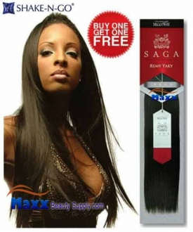 "MilkyWay Saga Remy Yaky Weaving(Siver Pack) 12""-Buy 1 Get 1 Free"