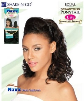 Freetress Equal Synthetic Hair Drawstring Ponytail Lite- Sassy Girl
