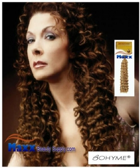 Bohyme Deep Wave Gold Collection Remy Human Weave Hair Machined Tied