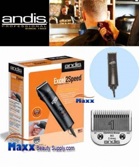 Andis #22315 Excel 2 Speed Rotary Motor Detachable Blade Clipper