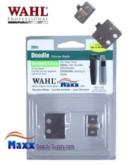 Wahl 2041 Hair Doodle Blade Set for Tattoo Trimmer