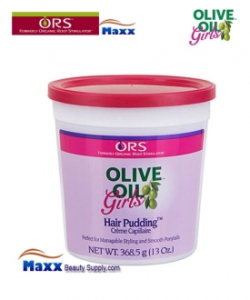 Organic Root Stimulator Girls Olive Oil Hair Pudding 13oz