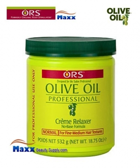 Organic Root Salon Olive Oil Professional Creme Relaxer 18.75oz - Normal