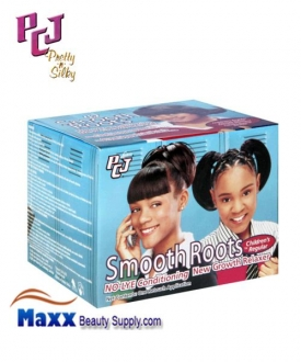 PCJ Pretty-n-Silky Smooth Roots No Lye New Growth Relaxer Kit - Children Regular