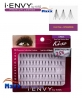 12 Package - Kiss i Envy Individual Eyelashes - KPE05 - Knot Free Medium Black