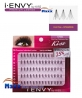 12 Package - Kiss i Envy Individual Eyelashes - KPE06 - Knot Free Comb Black