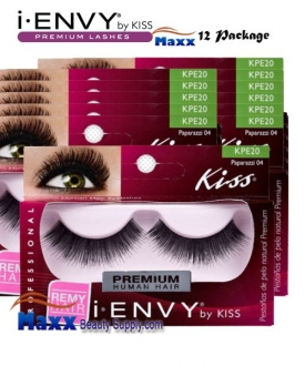 12 Package - Kiss i Envy Paparazzi 04 Eyelashes - KPE20