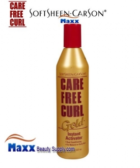 Care Free Curl Instant Moisturizer On Natural Hair