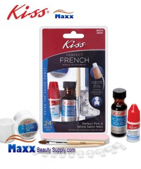 Kiss Perfect French Acrylic Sculpture Kit - AKF01 : 00376