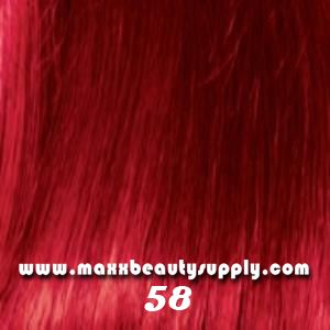 Jazzing Temporary Hair Color 3 Oz Ruby Red 58 Sistawigcom