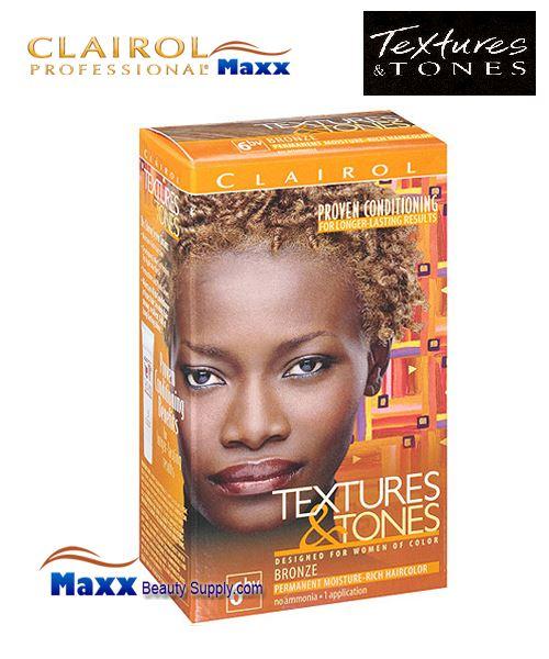 Clairol Textures Tones Permanent Hair Color 6 49